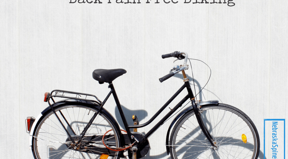 Back Pain Free Biking