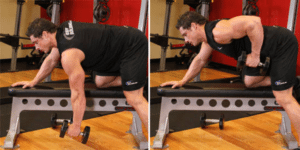 Single-Arm Dumbbell Row